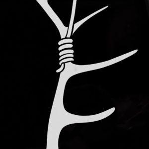 Antlerhook logo decal