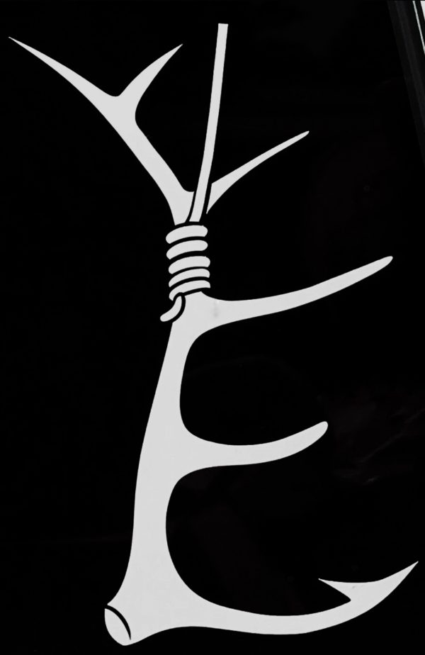 Antlerhook logo decal